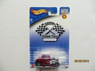Hot Wheels 2003 Cruising Vernon Texas Sealed
