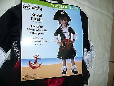 Infant Girls Royal Pirate Halloween Costume-Girls Costume-Girls Toddler Costume - Pirate Baby Girl Costume