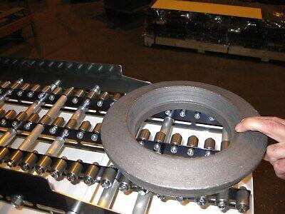 Gravity Conveyor Roller Bearings Blue Steel Conveyors