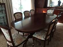 Beautiful mahogany dining suite! REDUCED Panorama Mitcham Area Preview