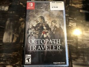 Selling my BRAND NEW UNOPENED Octopath Traveler for Switch!!!