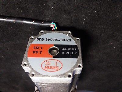 Shina Step Motor 1.8 Deg Step 57h2p1830a8-g20 3.0amp 1.2 Ohm