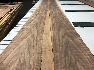 Figured Walnut Wood Veneer 112 X 9 2 Sheets 518e