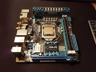 Usado, Asus P8Z77-i Deluxe Motherboard, i5 2500K, 8GB Samsung Low Profile Ram Bundle comprar usado  Enviando para Brazil