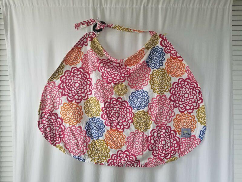 Itzy Ritzy Breastfeeding Nursing Cover with lining, Ritzy Nurser, floral, used