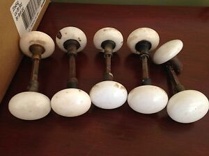 Antique Porcelain Door Knobs, $25/Set
