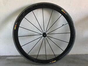 Mavic Cosmic SL Wheelset carbon incomplete