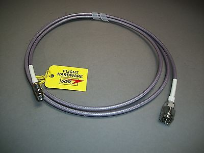 Gore-tex Precision Tnc To Sma Cable 69 Mm Aerospace Grade Microwave Coaxial