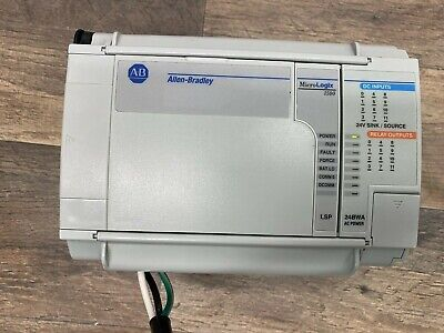 Allen Bradley Micrologix 1500 1764 24bwa Base With 1764-lsp Processor Used