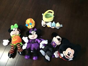 Various lot of Disney's Mickey Mouse & friends toys