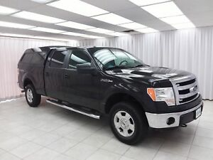 2014 Ford F-150 XLT 4x4 5.0L 4DR 6PASS CREW CAB LONG BOX w/ BLUE