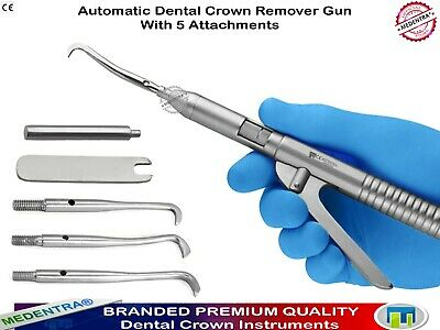Dental Automatic Crown Remover Gun Tool Kit Crowns Removal Tools Lab Instrument