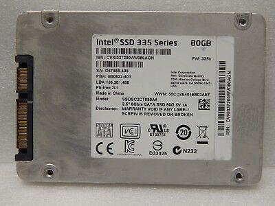 Intel 335 Series 80GB Internal Solid State Drive SSDSC2CT080A4