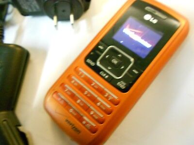 GOOD! LG enV vx9900 Envy Orange Camera QWERTY Video Bluetooth VERIZON Cell Phone
