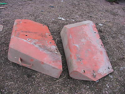 Allis Chalmers Tractor Fenders 190 Xt 180 200