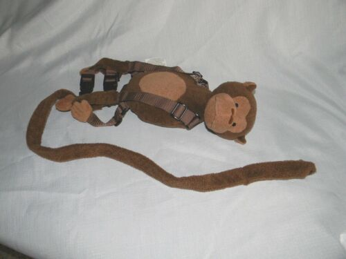 Gold Bug 2 in 1 Harness Buddy Brown Monkey Child Safety Harness with Backpack