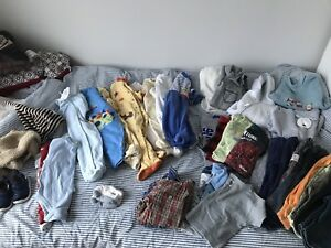 Lot vêtements garçon 3M-12M baby boy lot