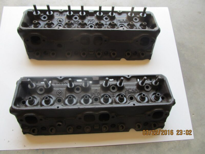 1971 Chevy S/B 400 Heads 1.94/1.60 D-6-71 Cleaned/magnafluxed Ready to rebuild