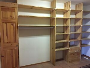 Pantry wall unit and cupboard