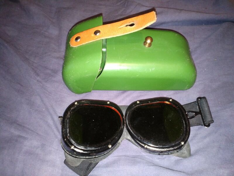 OZP nuclear bang protection googles, USSR, protection glasses military, rare