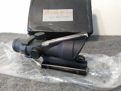 ACOG Ta 31B 4x Times Scope Replica * Open Box * STORE DISPLAY * Black w. RED **