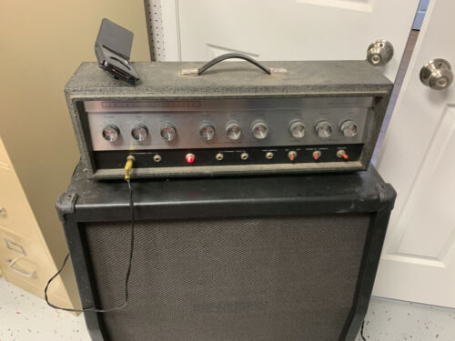SILVERTONE 1484 TWIN TWELVE GUITAR TUBE AMP-Early 60s 100% Original w/Reverb!