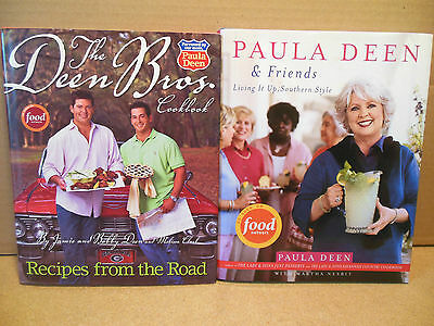Paula Deen Food Network Cookbook Lot Bros Recipes From The Road Friends Southern