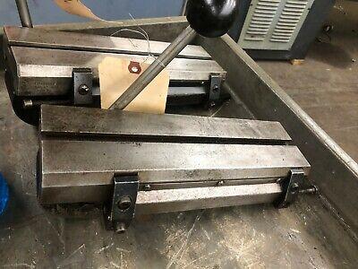 Hardinge Lever Operated Double Tool Cross Slide Model E Hsl-59 Dv-59 Dsm-59