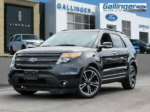 2013 Ford Explorer SPORT w/DUAL PANEL ROOF, NAVIGATION, 2ND ROW