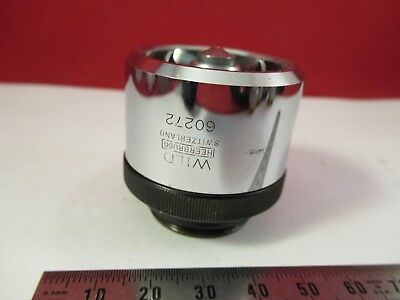 Wild Swiss Objective Epi 40x Microscope Part Optics As Pictured Ft-4-32