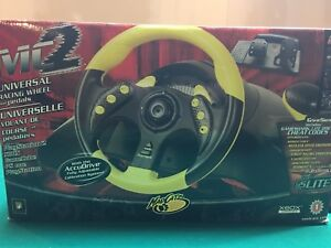 Gaming MC2 Universal Racing Wheel and Pedals