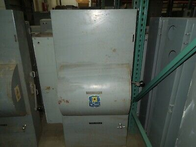 Square D 92346 600a 3ph 3p 600vac Double Throw Non-fused Manual Transfer Switch