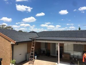 CB roof restorations and repairs