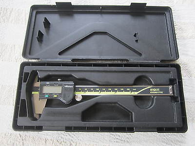 Mitutoyo 0-6 Digital Caliper 500-196-20 In Case Cd-6 Csx Machinist Metal Tool