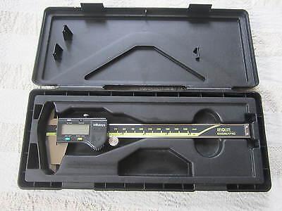 Mitutoyo 0-6 Digital Caliper 500-196-20 In Case Cd-6 Csx Machinist Metal Tool