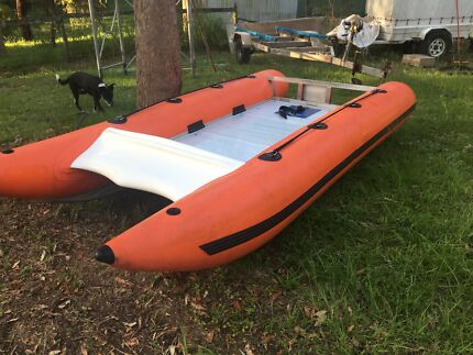 Thundercat inflatable boat