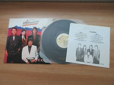 LOS TEMERARIOS Te Quiero 1992 Rare Korea Orig LP Insert Mexican Pop RARE