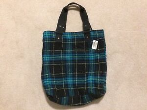 Large plaid tote (BNWT) | SFPF home