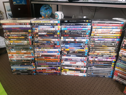 Massive dvd collection