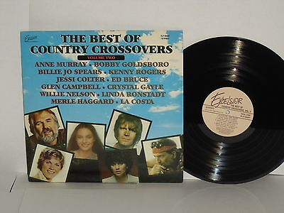 Best Of Country Crossovers 2 Va 1979 Ed Bruce Linda Ronstadt Willie Nelson Jessi