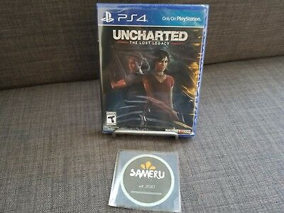 New Uncharted Lost Legacy Playstation 4 Ps4 Sealed Usa Seller Fast Free Shipping
