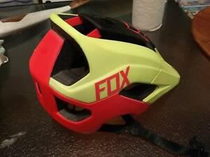 Fox Helmet MTB cycling