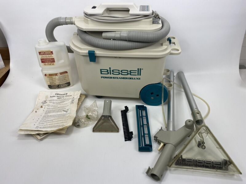 Bissell Power Steamer Deluxe 1631-1 Carpet Upholstery Shampoo Extractor Cleaner
