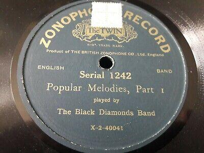 The Black Diamonds Band - Popular Melodies, Part 1 & 2 - 78