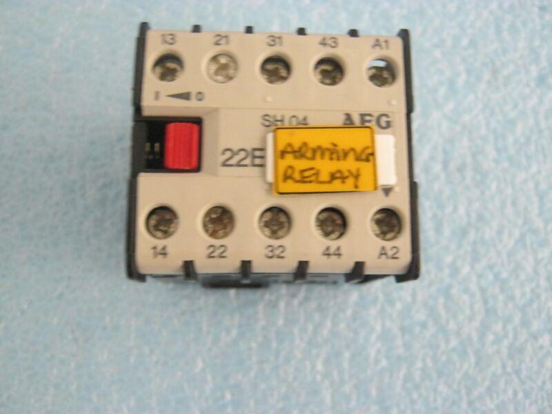 AEG Model: SH04 Motor Contactor.  <