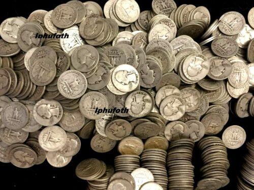 (1) Silver Washington Quarter 1932-1964 90% Silver Circulated