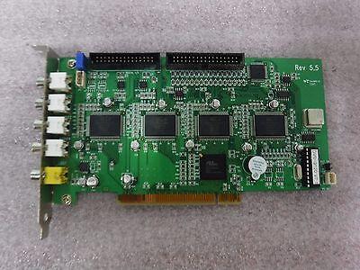 PCI6150-BA66PC PLX Tech Video Audio PCI Card Board Conexant fusion 878A