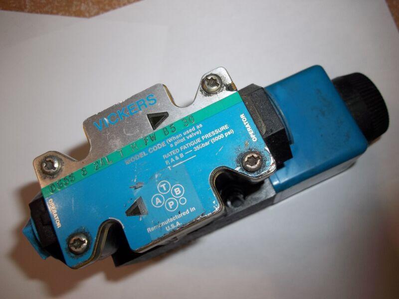 VICKERS EATON DIRECTIONAL CONTROL VALVE DG5S-8-2AL-T-M-FW-B5-30 (BIN82)