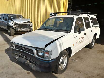 Wrecking 98 Toyota Hilux RZN149 DCab AT RWD 160408, Parts Only