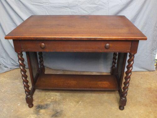 Antique Stickley Brothers Quaint Tudor Mission Oak Table Arts & Crafts #2726